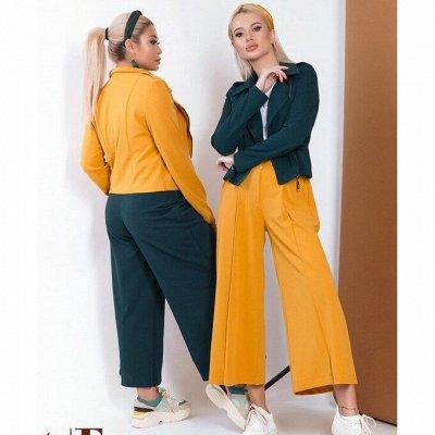 ⭐️*SТ-Style*Новинки+ Распродажа*Огромный выбор одежды! — 48+: Костюмы с кюлотами — Костюмы