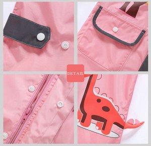 Комбинезон от дождя, цвет розовый