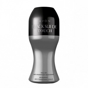 Дезодорант-антиперспирант с шариковым аппликатором Black Suede Touch, 50 мл