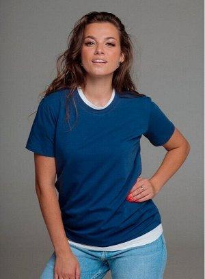 Футболка Одежда из хлопкового трикотажа Mongolka – это сочетание стиля и комфорта, практичности и функциональности на каждый день.  Базовая футболка, которая должна быть в каждом гардеробе. Подходит к