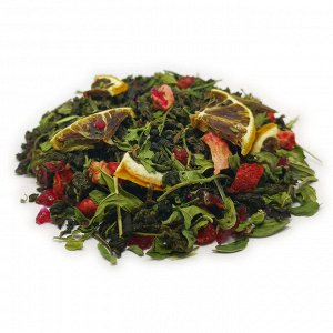 Зеленый чай Клубничный мохито
