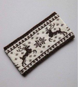 Повязка из 100% монгольской шерсти