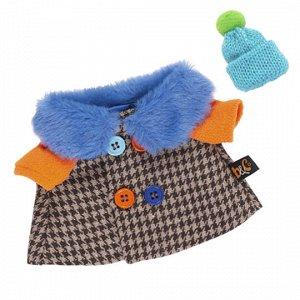 Комплект одежды для Басика Пальто с разноцветными пуговицами