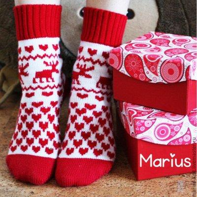 Уютная одежда: колготки до 600ден, носки, перчатки для всех  — НОВОГОДНИЕ НОСКИ — Носки