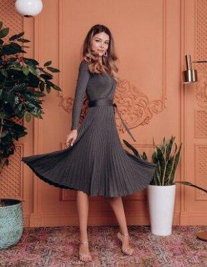 Платье 157419012_02; графит