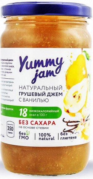 Джем Груша-ваниль низкокалорийный, Yummy jam, 350 г