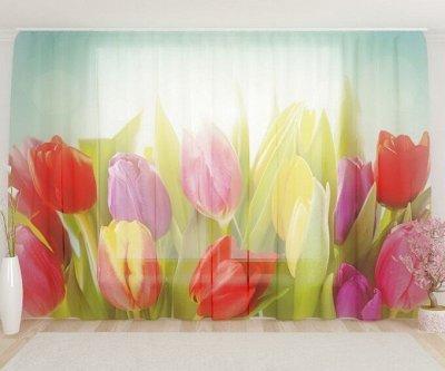 ФОТО-идеи для дома!😍 Шторы, тюль, скатерти, коврики, пледы! — Тюль цветы — Тюль