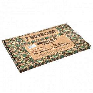 Мангал 500х300х500 мм, сборный без шампуров в картонной коробке