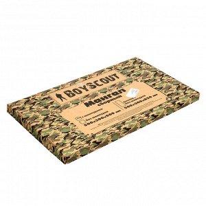 Мангал 500х300х500 мм, сборный, + 6 шампуров(нерж.), в картонной коробке