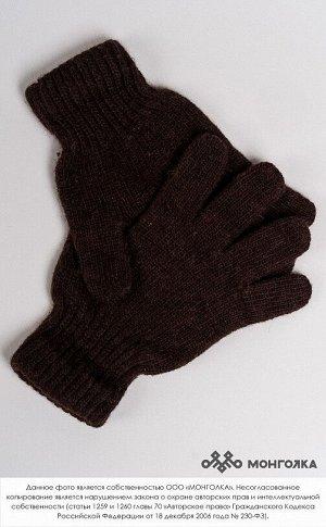Перчатки детские из 100%  монгольской шерсти