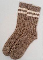 Носки из 100% монгольской шерсти премиум