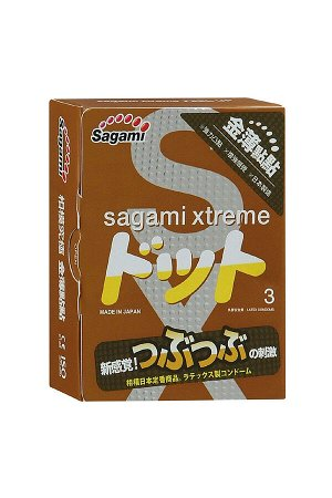 Презервативы латексные Sagami Xtreme Feel Up №3, 19 см