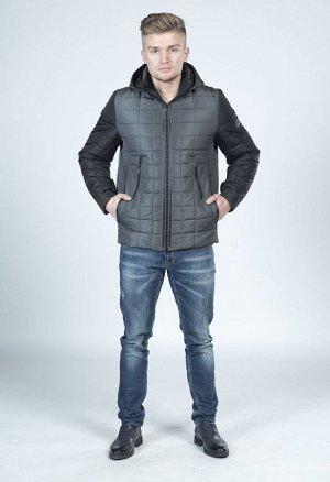 Куртка комбинированая