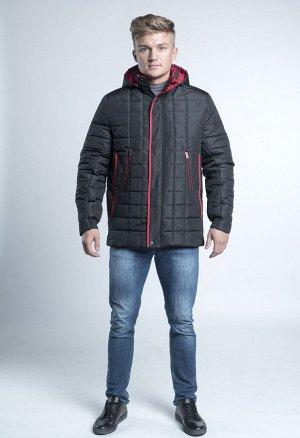 Куртка с красной отделкой
