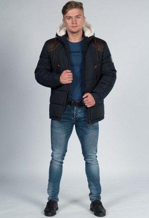 Куртка пуховик средней длинны.