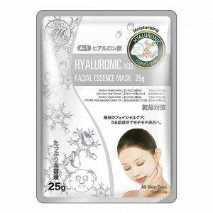 """Косметическая маска для лица с гиалуроновой кислотой,  """"MITOMO"""" 25 гр."""