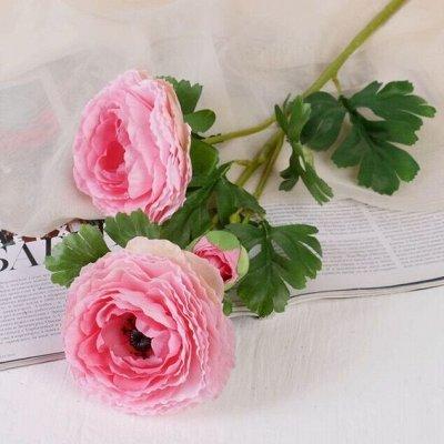 Всё для праздника - 6. Декор, флористика, свечи, подарки — Искусственные цветы. Коллекция № 2 — Флористика