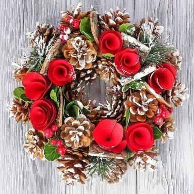 Всё для праздника - 6. Декор, флористика, свечи, подарки — Искусственные ели,венки — Сувениры