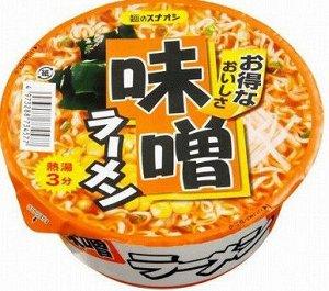 Суп-лапша SUNAOSHI б/п вкус соевой пасты (мисо), 83 гр