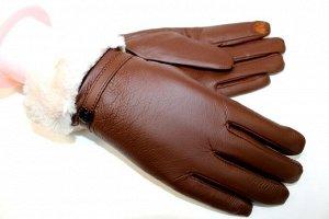 173805 Перчатки женские обливные сенсорные. Размер универсальный. Арт 4
