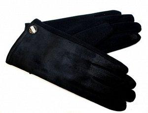 174005 Мужские перчатки комбинированные трикотаж+из эко замша сенсорные. Размер 10,5. Арт 1