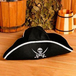 """Банная шапка """"Шляпа Пират"""""""