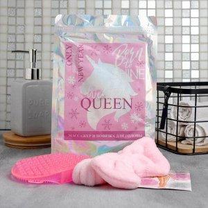"Массажёр с повязкой для головы ""Queen"", 18 х 26 см"