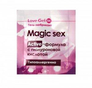 Гель-любрикант LOVEGEL M одноразовая упаковка 4 г
