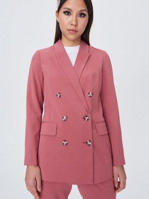 Двубортный пиджак 42-44-46 р  цвет малина