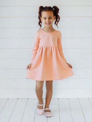 Платье Виолетта персик