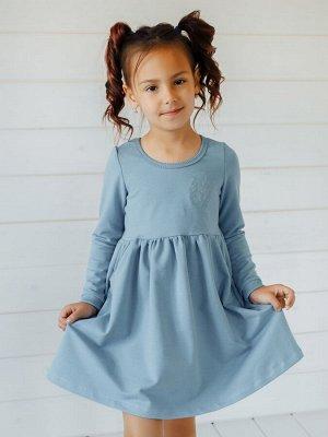 Платье Виолетта голубой