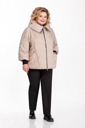 Куртка Куртка Pretty 954 бежевый  Состав: ПЭ-100%; Сезон: Осень-Зима Рост: 164  Куртка из простеганной на синтепоне плащевой ткани. Спереди обработаны рельефы из проймы, карманы и застежка на молнию.