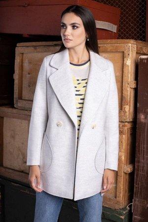 Пальто Пальто ЮРС 20-407/1  Состав ткани: ПЭ-75%; Шерсть-5%; Акрил-20%;  Рост: 164 см.  Совершенно невозможно представить себе гардероб женской одежды без оригинального, стильного и модного пальто. П
