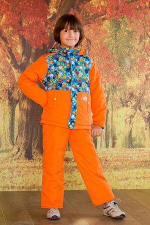 Костюм оранжевый осень/весна арт.40-002-оранжевый