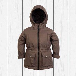 Куртка детская демисезон арт.70-035-коричневый