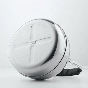Чайник 3 л, со свистком и откидной ручкой
