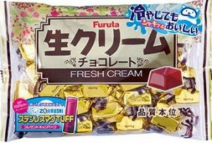 Шоколадные конфеты FURUTA со сливками 184 гр/32