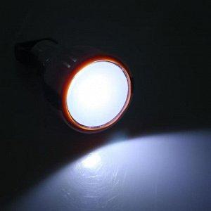 Фонарь-лампа кемпинговый подвесной, COB диод, 1,5 Вт, 150 лм, 3 ААА, 4 ч работы