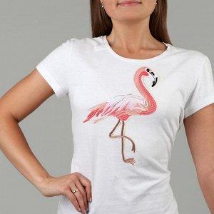 Термоаппликация «Фламинго», 27 ? 18,5 см, цвет розовый