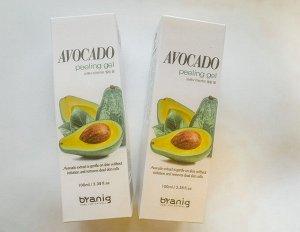Byanig Avocado Peeling Gel Пилинг гель с маслом авокадо, 100 мл