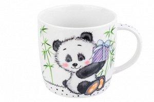 "Кружка 300 мл 11*8*7,5 см ""Панда с подарком"" 5"