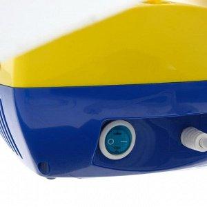 Ингалятор (небулайзер) CN-HT03 «Ариа», компрессорный, 2-12 мл, 60 дБ, жёлтый