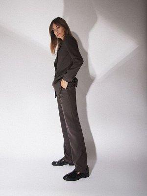 Однотоннные брюки D163/original