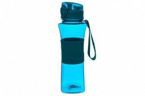 """Бутылка для воды 550 мл 8*7,5*23 см """"Бирюзовая"""""""