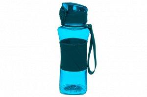 """Бутылка для воды 420 мл 8*7*20 см """"Бирюзовая"""""""
