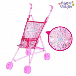 Кукольная коляска-трость «Сладкая поняшка»
