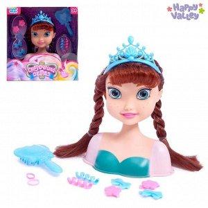 Кукла-манекен для создания причёсок «Сказочный образ Анны»