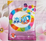 10 Acrives Detergent Powder (Ch) Стиральный порошок для цветного белья, функция 2 в 1 чистый и яркий, аромат Лимона, 3.68 кг