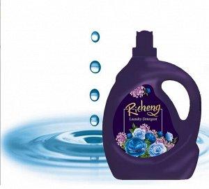 Жидкое средство для стирки Аромат ночных цветов, эффект глубокого очищения, 2 кг.
