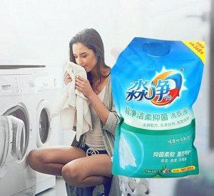 Жидкое средство для стирки белого белья, с антибактериальным эффектом, запаска с крышкой, 1.148 кг